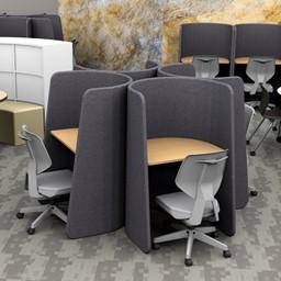 Bradley Office Chair in a study carrel