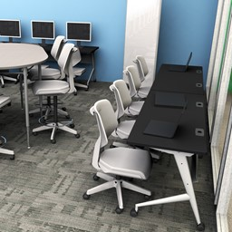 Bradley Office Chairs in a computer lab