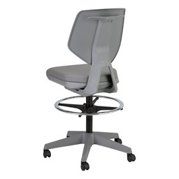 Bradley Drafting Height Desk Chair - Back