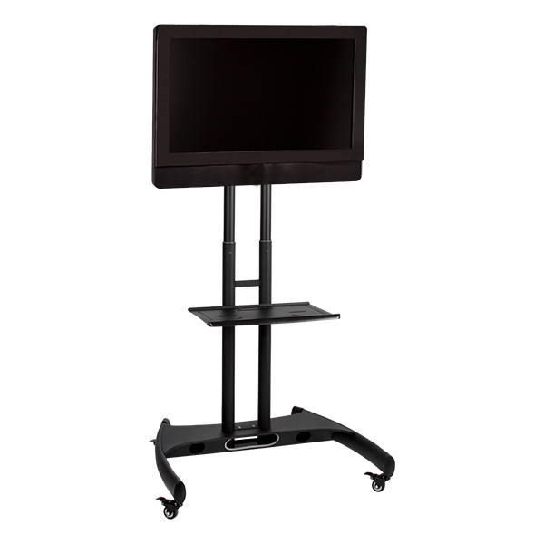 Norwood Adjustable-Height Flat Panel TV Stand w/ Shelf