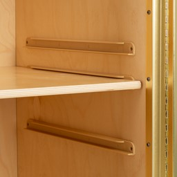 Premium Sanitation Station w/ HPL Top, Dispenser Mount & Hand Sanitizer Dispenser - Inner Shelf