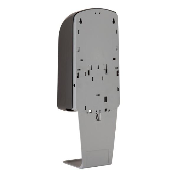 Hand Sanitizer Station - Auto Dispenser - Black (rear view)