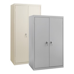 Heavy Duty Storage Cabinets w/ Fixed Shelves