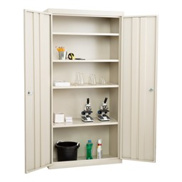 "Heavy Duty Storage Cabinet w/ Fixed Shelves (36"" W x 18"" D x 72"" H)"