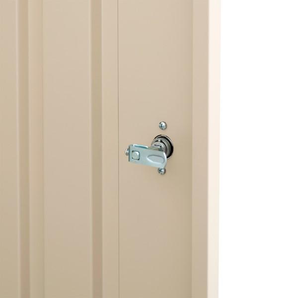 Heavy Duty Storage Cabinet w/ Adjustable Shelves - Locking Handle