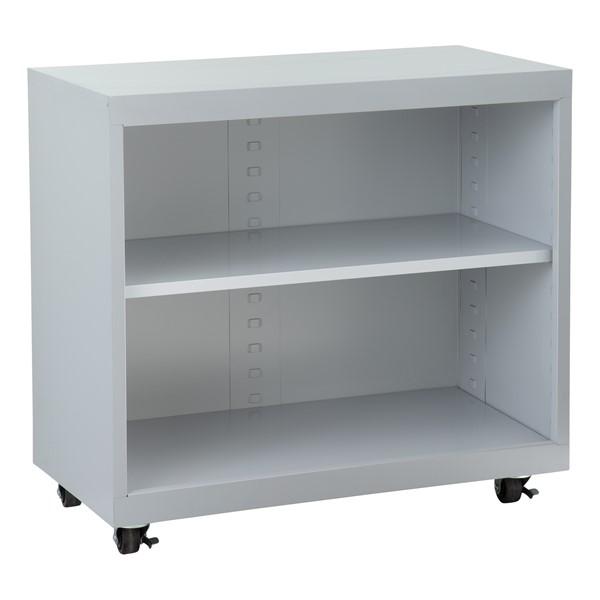 "Heavy Duty Mobile Bookcase (33"" H)"
