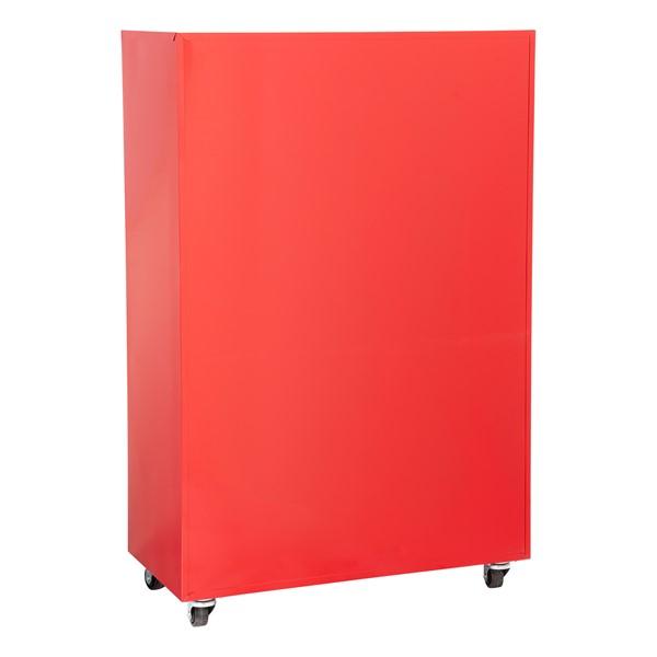 "Heavy Duty Mobile Bookcase (55"" H) - Back"