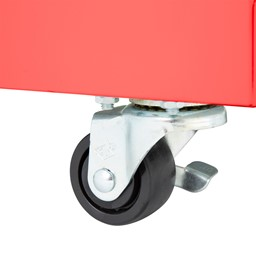 """Heavy Duty Mobile Bookcase (55"""" H) - Locking Caster"""