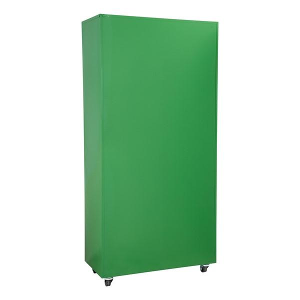 "Heavy Duty Mobile Bookcase (75"" H) - Back"