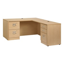 Norwood Series L-Shaped Workstation