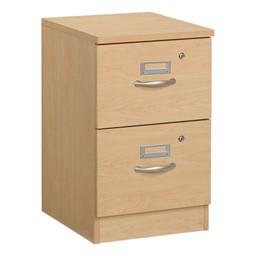 Norwood Series Two-Drawer File Pedestal