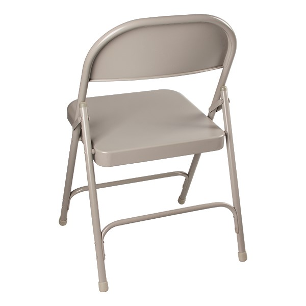 6600 Series Steel Folding Chair - Back view