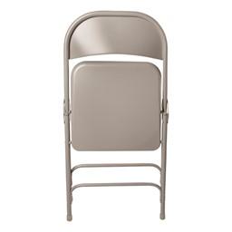 6600 Series Steel Folding Chair - Shown folded