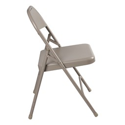 6600 Series Steel Folding Chair - Side view