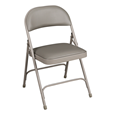 6600 Series Folding Chair w/ Vinyl Upholstered Seat & Back