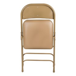 Sensational 6600 Series Heavy Duty Folding Chair W Vinyl Upholstered Seat Back Lamtechconsult Wood Chair Design Ideas Lamtechconsultcom