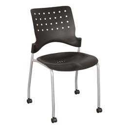 Ballard Mobile Plastic Stack Chair