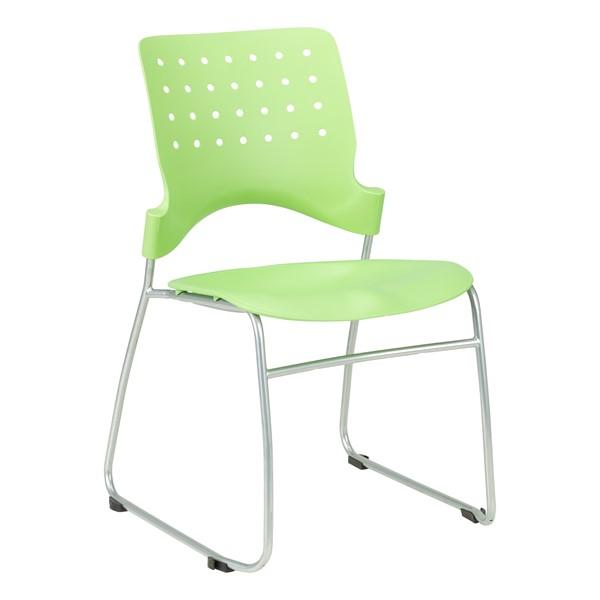 Ballard Plastic Stack Chair - Green Apple