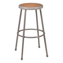 """Metal Lab Stool - Fixed Height (30"""" H)"""