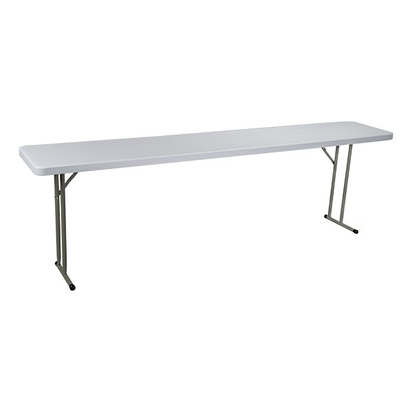 Blow-Molded Plastic Folding Training Table-Shown Pl Furniture\Nor-Wob1896-So