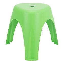 Assorted Color Indoor/Outdoor Stacking Stool - Green