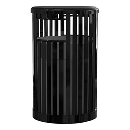 Kensington Series Trash Can w/ Lid & Liner