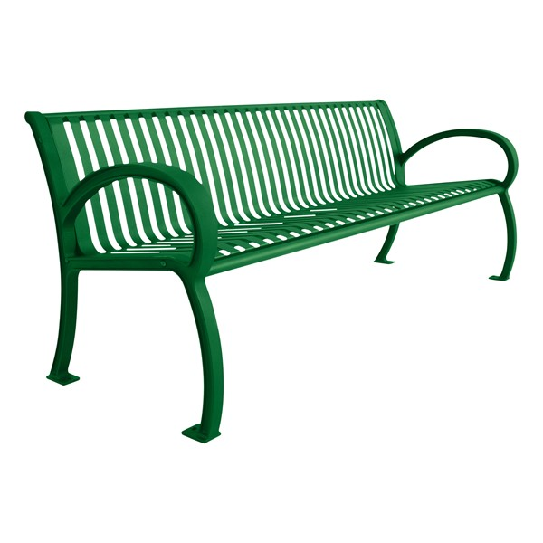 Bennington Series Bench (8' L) - Green