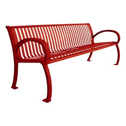 Bennington Series Bench (8' L) - Red