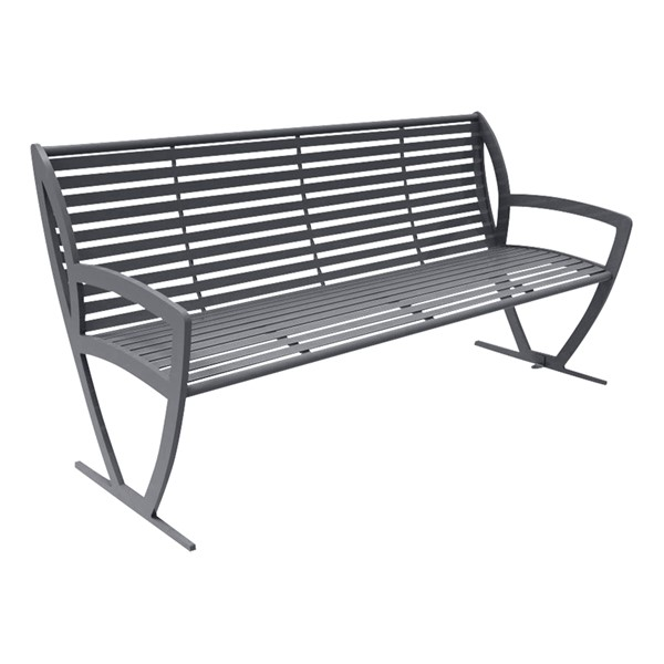 Arlington Series Bench w/ Back-Yhown ri Dggy