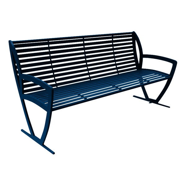 Arlington Series Bench w/ Back-Yhown ri Ub