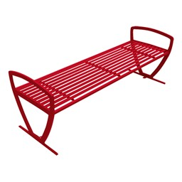 Arlington Series Bench w/o Back-Yhown ri Rd