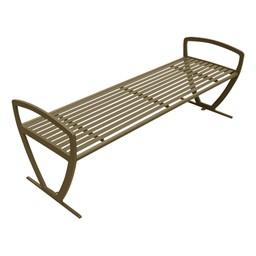 Arlington Series Bench w/o Back-Yhown ri Sbnz