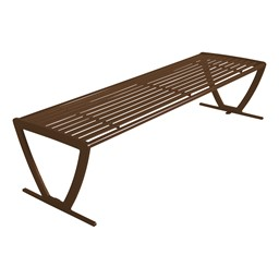 Arlington Series Bench w/o Back-Yhown ri Br