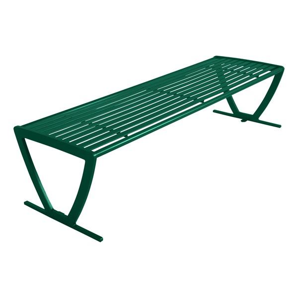 Arlington Series Bench w/o Back-Yhown ri Gn