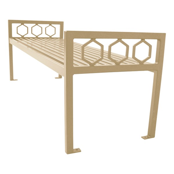 Evanston Series Bench w/o Back - Metallic