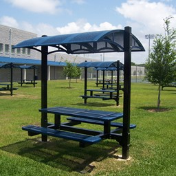 Canopy Picnic Table w/ Diamond Expanded Metal