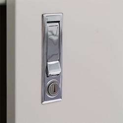 Economy Storage Cabinet - shown in dove gray
