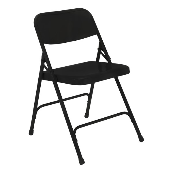 200 Series Steel Folding Chair - Black
