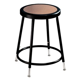"6200-10 Black Stool - Adjustable Height (19"" - 27\"" H)"