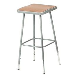 "6300 Square Stool - Adjustable Height (19"" - 27\"" H)"