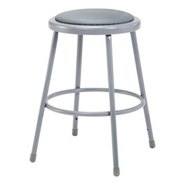 6400 Padded Stool - Fixed Height