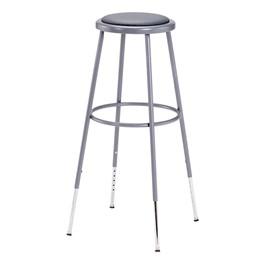 6400 Padded Stool – Adjustable Height