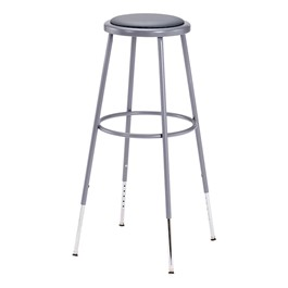 6400 Padded Stool – Adjustable Height