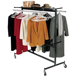 Double-Tier Hanging Chair & Coat Truck  (Holds up to 84 Chairs or 60 - 70 Coats)