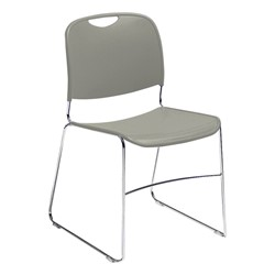 Pack of Forty 8500 Series School Chairs w/ Bonus Dolly - 8500 Series School Chair - Gray