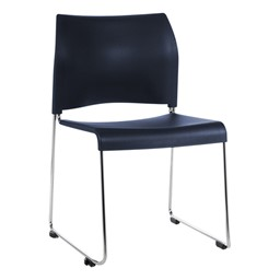 8800 Series Cafetorium Stack Chair - Navy
