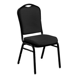9300 Stack Chair - Black