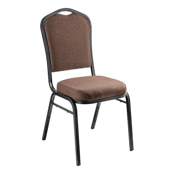 9300 Stack Chair - Chocolate/Black
