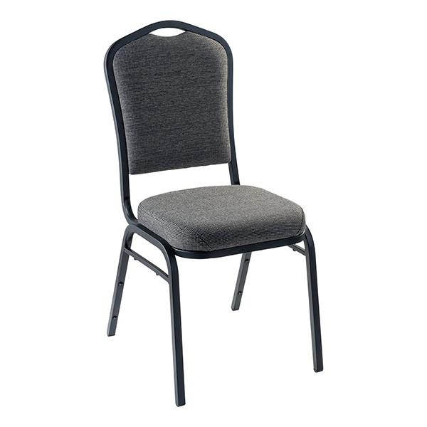 9300 Stack Chair - Natural Graystone/Black