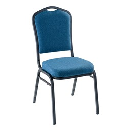 9300 Stack Chair -Natural Blue/Black